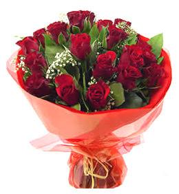 Bitlis anneler günü çiçek yolla  11 adet kimizi gülün ihtisami buket modeli