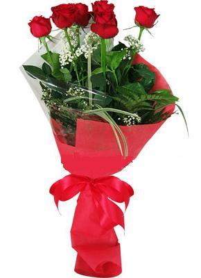 7 adet kirmizi gül buketi  Bitlis çiçek yolla , çiçek gönder , çiçekçi