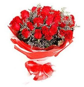 Bitlis çiçek mağazası , çiçekçi adresleri  12 adet kırmızı güllerden görsel buket
