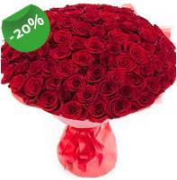 Özel mi Özel buket 101 adet kırmızı gül  Bitlis anneler günü çiçek yolla