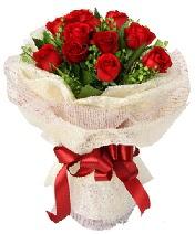 12 adet kırmızı gül buketi  Bitlis anneler günü çiçek yolla