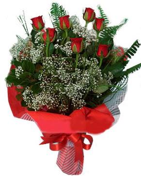 7 kırmızı gül buketi  Bitlis çiçek servisi , çiçekçi adresleri