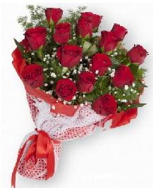 11 kırmızı gülden buket  Bitlis güvenli kaliteli hızlı çiçek