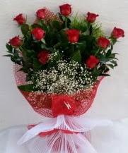 11 adet kırmızı gülden görsel çiçek  Bitlis çiçek satışı