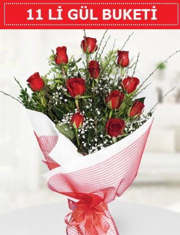 11 adet kırmızı gül buketi Aşk budur  Bitlis çiçek gönderme sitemiz güvenlidir