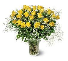 Bitlis çiçek siparişi sitesi  15 adet sarigül mika yada cam vazoda