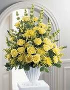Bitlis çiçek siparişi sitesi  sari güllerden sebboy tanzim çiçek siparisi