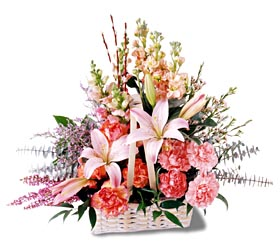 Bitlis çiçek siparişi sitesi  mevsim çiçekleri sepeti özel tanzim
