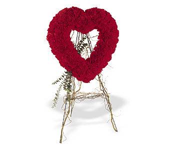 Bitlis internetten çiçek satışı  karanfillerden kalp pano