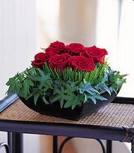 Bitlis çiçek siparişi sitesi  10 adet kare mika yada cam vazoda gül tanzim
