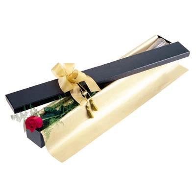 Bitlis uluslararası çiçek gönderme  tek kutu gül özel kutu