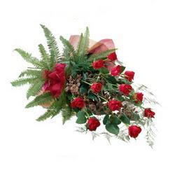 Bitlis online çiçek gönderme sipariş  10 adet kirmizi gül özel buket çiçek siparisi