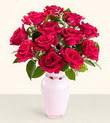 Bitlis hediye çiçek yolla  10 kirmizi gül cam yada mika vazo tanzim