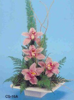 Bitlis çiçekçi telefonları  vazoda 4 adet orkide