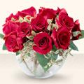 Bitlis çiçek online çiçek siparişi  mika yada cam içerisinde 10 gül - sevenler için ideal seçim -