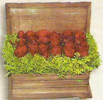 yapay güllerden sandik   Bitlis cicek , cicekci