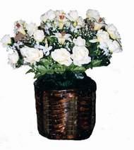 yapay karisik çiçek sepeti   Bitlis cicek , cicekci