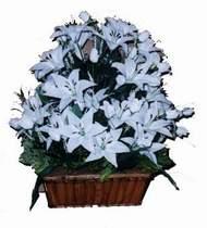 yapay karisik çiçek sepeti   Bitlis online çiçek gönderme sipariş