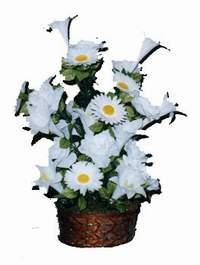 yapay karisik çiçek sepeti  Bitlis çiçek siparişi vermek