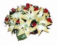 yapay karisik çiçek sepeti   Bitlis internetten çiçek siparişi