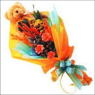 ayicik gül ve kir çiçekleri   Bitlis çiçekçi mağazası