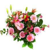 lilyum ve gerbera çiçekleri - çiçek seçimi -  Bitlis çiçek gönderme