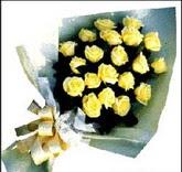 sari güllerden sade buket  Bitlis çiçek , çiçekçi , çiçekçilik