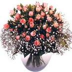 büyük cam fanusta güller   Bitlis çiçek yolla