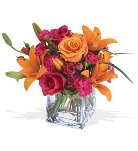 Bitlis çiçek mağazası , çiçekçi adresleri  cam içerisinde kir çiçekleri demeti