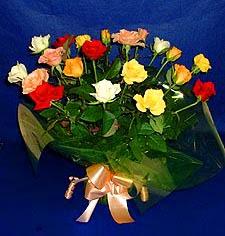 Bitlis hediye çiçek yolla  13 adet karisik renkli güller