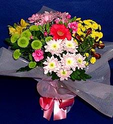 Bitlis hediye çiçek yolla  küçük karisik mevsim demeti