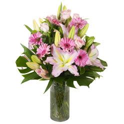 vazo içerisinde karisik mevsim çiçekleri  Bitlis internetten çiçek siparişi