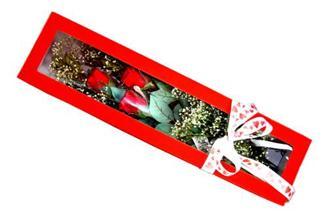 Bitlis hediye çiçek yolla  Kutuda 3 adet gül
