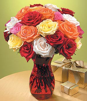 Bitlis anneler günü çiçek yolla  13 adet renkli gül