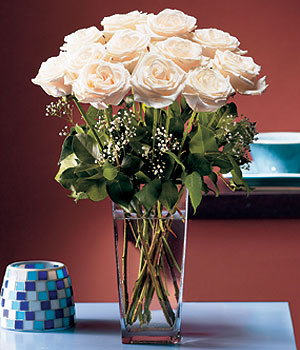 Bitlis hediye sevgilime hediye çiçek  Cam yada mika vazo içerisinde 12 gül