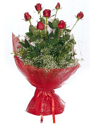 Bitlis çiçek servisi , çiçekçi adresleri  7 adet gülden buket görsel sik sadelik