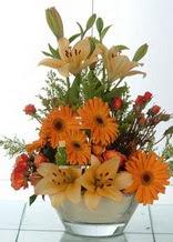 Bitlis çiçek servisi , çiçekçi adresleri  cam yada mika vazo içinde karisik mevsim çiçekleri