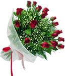 Bitlis internetten çiçek satışı  11 adet kirmizi gül buketi sade ve hos sevenler