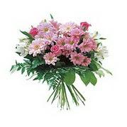 karisik kir çiçek demeti  Bitlis çiçek satışı