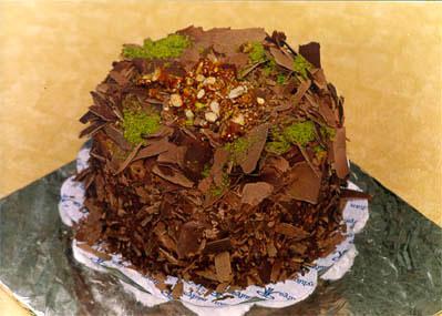 Çikolatali 4 ila 6 kisilik yas pasta  Bitlis çiçek gönderme sitemiz güvenlidir