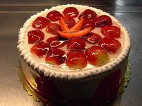 Meyvali yas pasta 4 ile 6 kisilik pasta  Bitlis çiçek siparişi sitesi