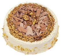 Karamelli 4 ile 6 kisilik yas pasta  Bitlis çiçek yolla