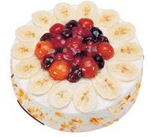 Meyvali 4 ile 6 kisilik yas pasta leziz  Bitlis ucuz çiçek gönder