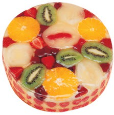 Meyvali 4 ile 6 kisilik yas pasta leziz  Bitlis hediye çiçek yolla
