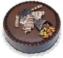 Çikolatali yas pasta 4 ile 6 kisilik  leziz  Bitlis çiçek mağazası , çiçekçi adresleri