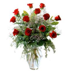 Vazo içerisinde 11 kirmizi gül  Bitlis çiçek siparişi vermek