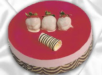 pasta siparisi 4 ile 6 kisilik yas pasta çilekli yaspasta  Bitlis çiçek servisi , çiçekçi adresleri