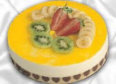 pasta gönderme 4 ile 6 kisilik yas pasta muzlu yaspasta  Bitlis çiçek mağazası , çiçekçi adresleri