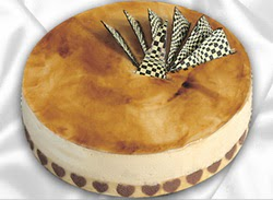 taze pasta 4 ile 6 kisilik yas pasta karamelli yaspasta  Bitlis çiçekçiler