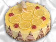 taze pastaci 4 ile 6 kisilik yas pasta limonlu yaspasta  Bitlis online çiçek gönderme sipariş
